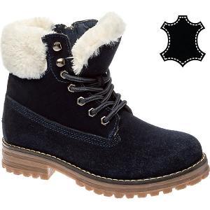 Утепленные ботинки Keddo. Цвет: синий