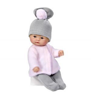 Кукла-пупс  в серой шапочке 20 см Asi