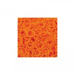 Резиночки  Неоновый оранжевый (24 клипсы+600 рез.), Rainbow Loom