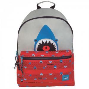 Рюкзак школьный Shark Attack 41х30х18 см 624605SRT Milan