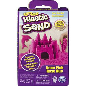 Игровой набор Kinetic Sand Кинетический песок, розовый
