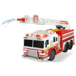 Пожарная машинка , свет и звук, водяной насос Dickie Toys. Цвет: красный