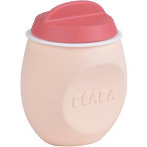 Контейнер из силикона Beaba Squeezportion, розовый BÉABA. Цвет: розовый