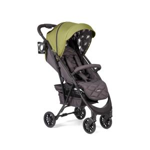 Прогулочная коляска  Eleganza V2, цвет: dark green Happy Baby