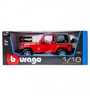 Машинка  Gold Jeep Wrangler Sahara Bburago