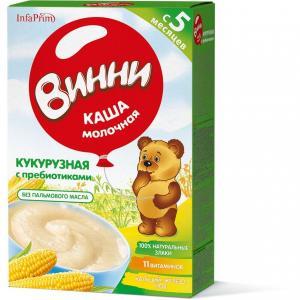 Каша  молочная Кукурузная с 5 месяцев 220 г Винни