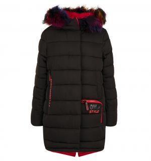 Пальто , цвет: черный Fobs