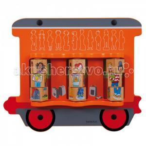 Деревянная игрушка  Настенный игровой элемент Дети Beleduc