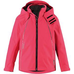 Утеплённая куртка  Brisk Reima. Цвет: красный