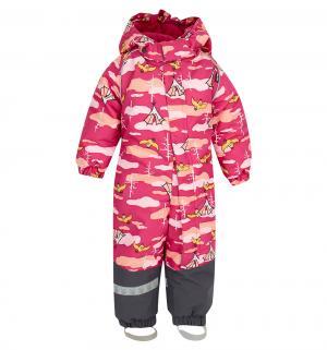 Комбинезон  Aapa, цвет: розовый/серый Lappi Kids