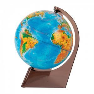 Глобус физический 21 см на треугольной подставке Глобусный мир