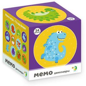 Настольная игра-мемо Dodo Динозаврики, 24 фишки Dido