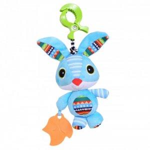 Подвесная игрушка  на прищепке Зайка Веня 27x13 см Biba Toys