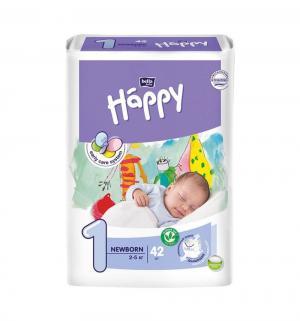 Подгузники  Newborn 1 (2-5 кг) 42 шт. Bella Baby Happy