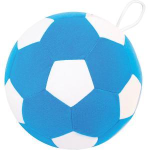 Игрушка  Футбольный мяч, бело-синий Мякиши