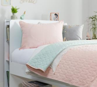Комплект в кроватку  Покрывало и 2 декоративные подушки Ducy 145x230 см Cilek