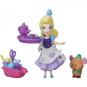 Игровой набор Disney Princess Маленькое королевство Золушка и мышонок Гас Hasbro