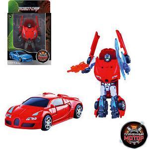 Трансформер  Робот-Машина Спорткар Пламенный мотор. Цвет: разноцветный