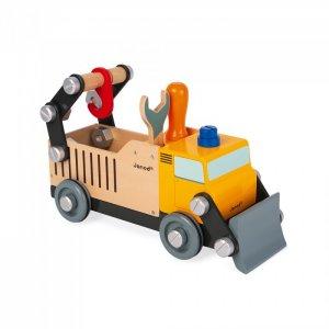 Деревянная игрушка  Игрушка-конструктор Строительный автомобиль BricoKids Janod