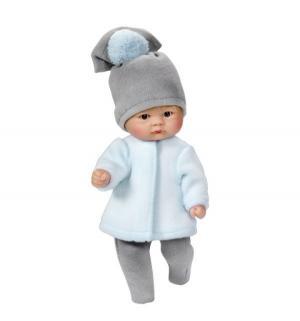 Кукла-пупс  в белой курточке 20 см Asi