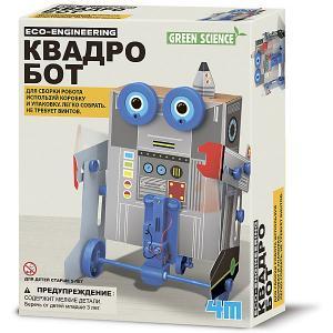 Набор для робототехники Green Science Квадробот 4M