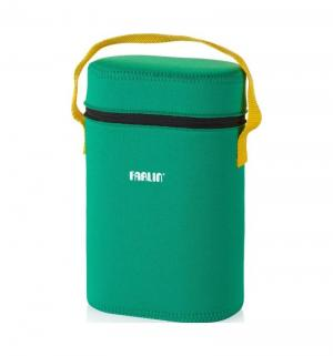 Термосумка  на 2 бутылочки для бутылочек, цвет: зеленый Farlin