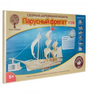 Сборная деревянная модель  Парусный фрегат Wooden Toys