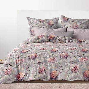 Комплект постельного белья  Карнелия, 2-спальное Романтика. Цвет: разноцветный