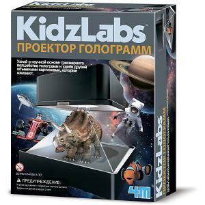 Набор для конструирования  KidzLabs Проектор голограмм 4M