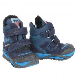 Ботинки , цвет: синий Minimen
