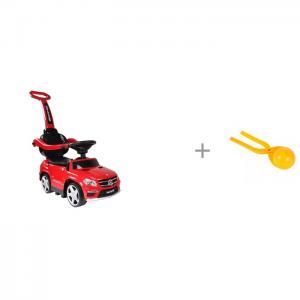 Каталка  Mercedes-Benz GL63 A888AA-M и 1 Toy Игрушка для формирования снежков RiverToys