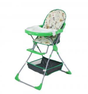 Стульчик для кормления Selby 252, цвет: совы/зеленый Фея