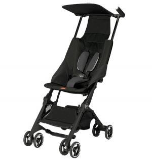 Прогулочная коляска  Pockit, цвет: monument black GB