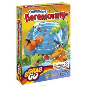 Настольная игра  Голодные бегемотики (дорожная версия) Hasbro Games