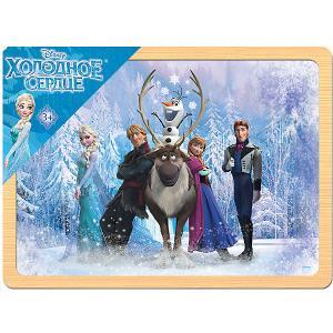 Игра из дерева Холодное сердце (Disney) Степ Пазл
