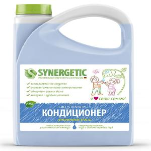 Кондиционер для белья,  (Синергетик), \Утренняя роса\ , 2,75 л. Synergetic