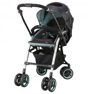 Прогулочная коляска  MiracleTurn Elegant II, цвет: бирюзовый Combi