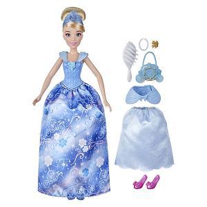 Кукла Disney Princess Золушка в платье с кармашками Hasbro. Цвет: разноцветный