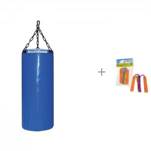 Мешок боксерский ДМФ-МК-01.67.06 5 кг и Скакалка 1toy 2.3 м Romana