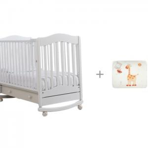Детская кроватка  Ванечка качалка и комплект в кроватку Perina Кроха (7 предметов) Гандылян