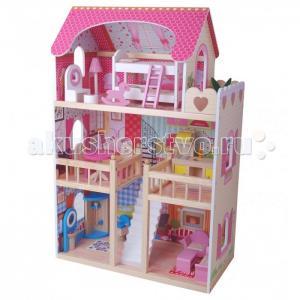 Edufun Кукольный дом с мебелью EF4109 Edufan