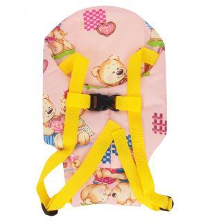 Рюкзачок  Кенгуру для куклы бежевый Спортбэби