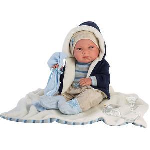 Кукла младенец Ники 40 см Llorens. Цвет: разноцветный