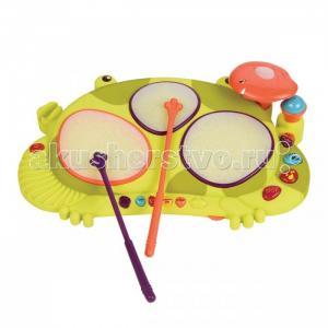 Музыкальный инструмент  Мульти-барабан Лягушка Battat