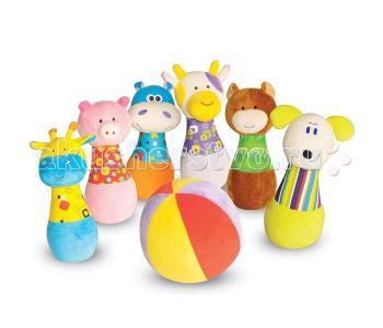 Мягкая игрушка  Игровой набор мягкий боулинг Parkfield