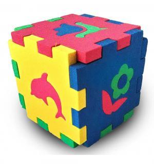 Кубик-мозаика  Силуэты, 19 см Бомик