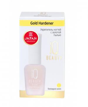 Укрепитель ногтей с золотой пылью Sosu