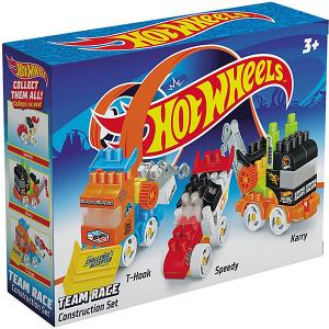 Конструктор  Hot Wheels 3 машинки Bauer