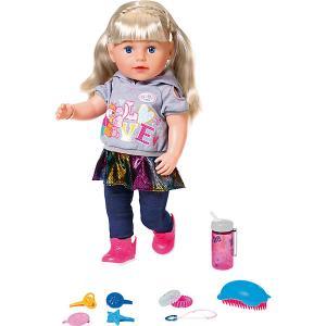 Интерактивная кукла  Baby born Сестричка, 43 см Zapf Creation