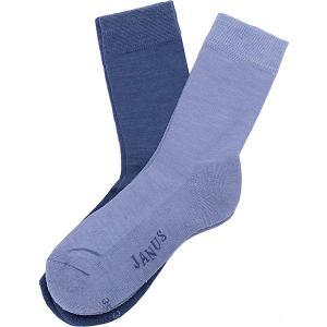 Носки , 2 пары Janus. Цвет: голубой